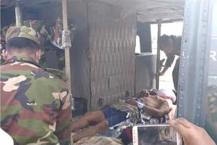 পাহাড়ে ভাল্লুকের আক্রমণ, আহতদের হেলিকপ্টারে আনা হলো চট্টগ্রামে