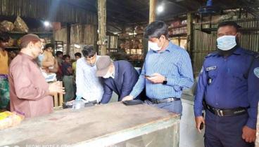 সাতকানিয়ায় ৫ প্রতিষ্ঠানকে ৭২ হাজার টাকা জরিমানা