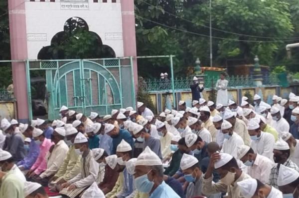 দক্ষিণ চট্টগ্রামের ৬০ গ্রামে ঈদ উদযাপন