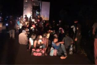 পরিত্যক্ত কন্টেইনার থেকে ১২৬ জন অভিবাসন প্রত্যাশী উদ্ধার
