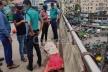 আখতারুজ্জামান ফ্লাইওভারে সড়ক দুর্ঘটনায় মোটরসাইকেল আরোহী নিহত