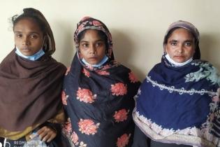 লালদিঘীতে তিন নারী ছিনতাইকারী গ্রেপ্তার